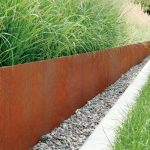 Spiked Corten Edging Packs - Corten edging 25 pack - 2500 x 1.5 x 150mm