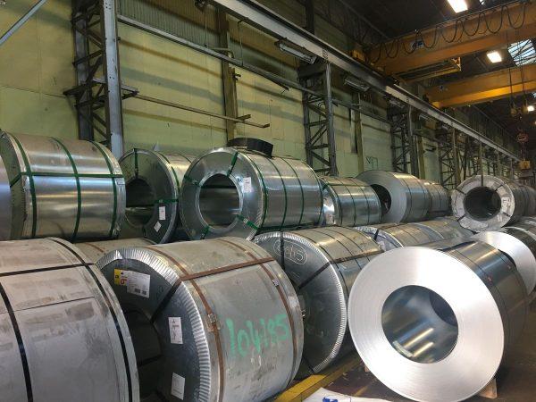 coils of galvanised steel in buy metal online warehouse