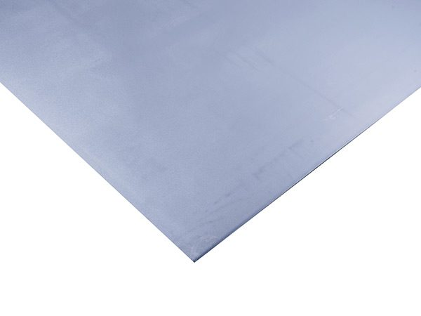 sheet of galvanised steel