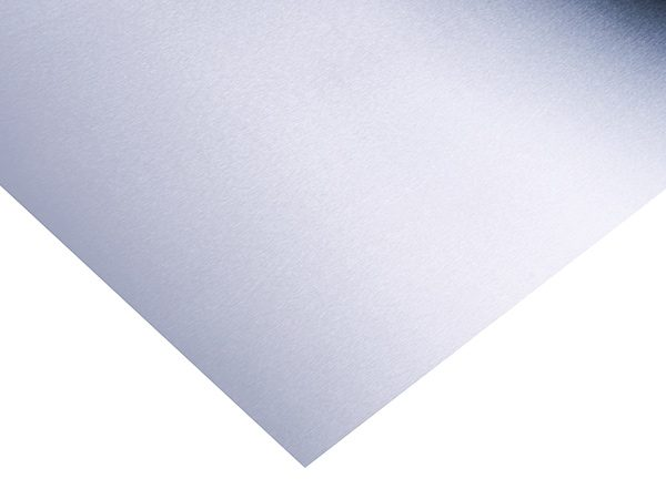 flat sheet of stainless steel