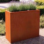 Andes Corten Steel Trough - 2000 x 500 x 600