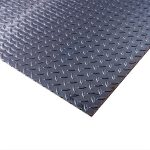 Steel Checker Plate - 3.0mm / 10 SWG (0.120``) - 1000mm x 1000mm - approx 40
