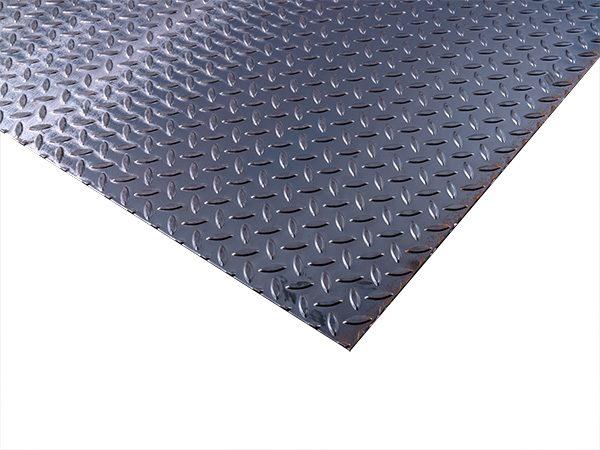 steel diamond tread plate