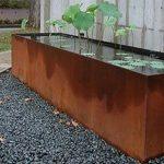 Corten Steel pond - 3000 x 2000 x 600
