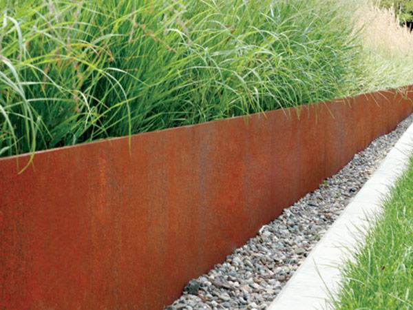 Corten Steel Edging 183 Durable Rustic Garden Edging
