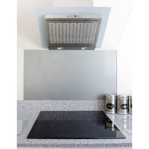 stainless steel splashback