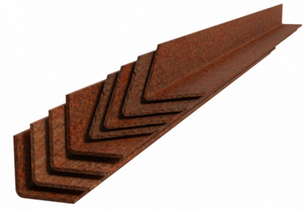 corten steel lawn edging pegs