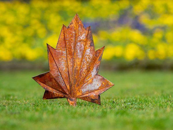 corten steel leaf