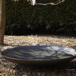 Powder Coated Steel waterbowl - 600 x 140