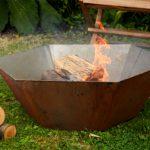 Dium Fire Pit - 800 x 800 x 260mm