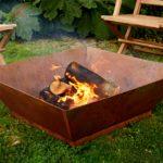 Magna Fire Pit - 800 x 800 x 260mm