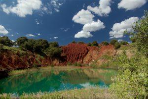 Bauxite landscape